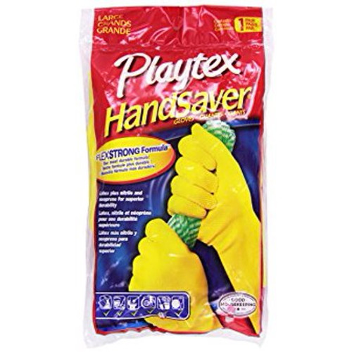 Playtex HandSaver FlexStrong Formula, Large Gloves, 1 Pair, 1 Ea