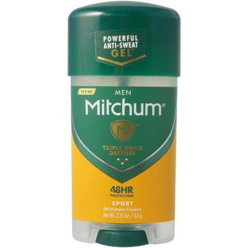 Mitchum Men Anti-Perspirant & Deodorant Gel Stick, Sport, 2.25 oz