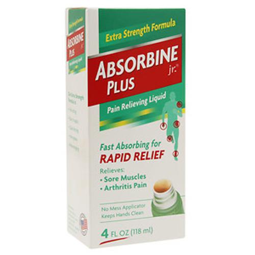 Absorbine Jr + Pain Relieving Liquid, 4 oz