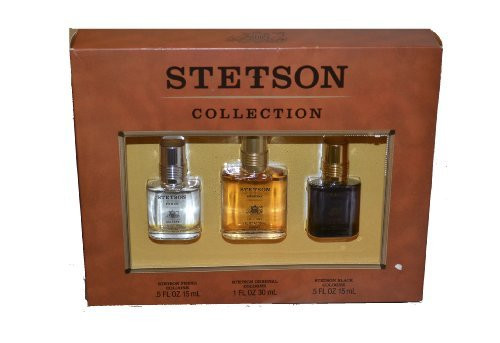 Stetson Collection 3-Piece Giftset for Men, 1 Ea