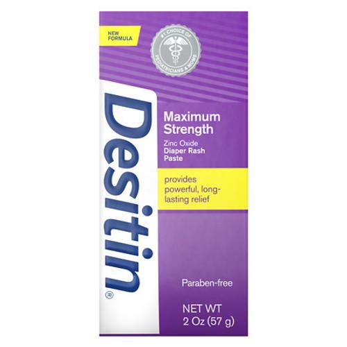 Desitin Maximum Strength Diaper Rash Paste, 2 oz, 1 Ea
