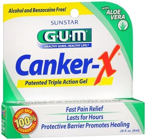 Butler GUM Canker-X Gel, 0.28 oz, 1 Ea