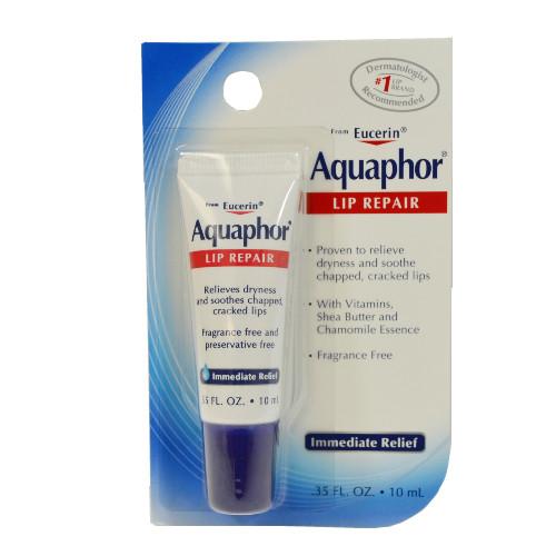 Aquaphor Lip Repair for Dry, Chapped Lips, .35 oz