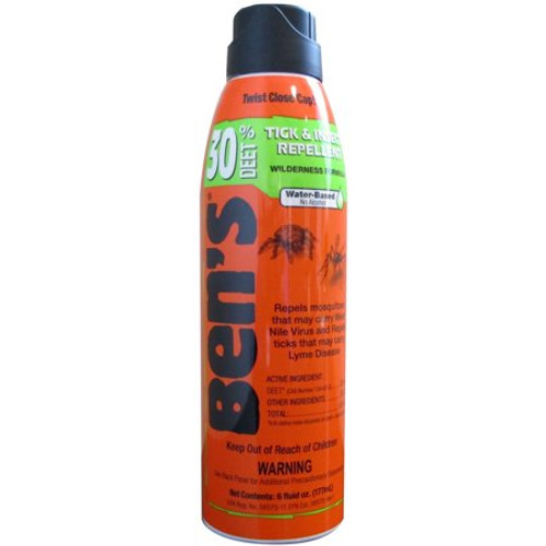 Bens Tick & Insect Repellent Aerosol Spray, 6 oz