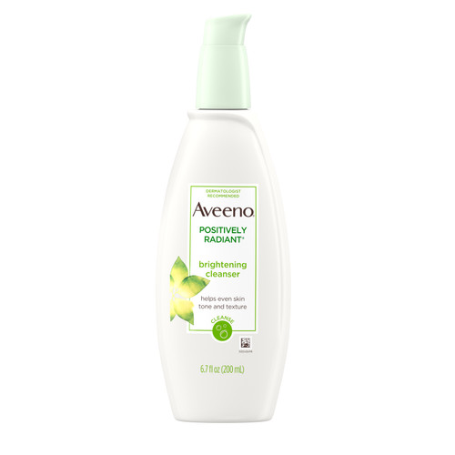 Aveeno  Positively Radiant Brightening Cleanser, 6.7 oz