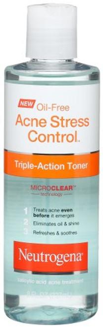 Neutrogena Oil-Free Acne Stress Control, Triple-Action Toner, 8 oz