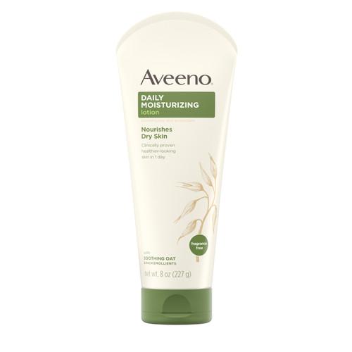 Aveeno  Daily Moisturizing Lotion, Fragrance Free, 8 oz