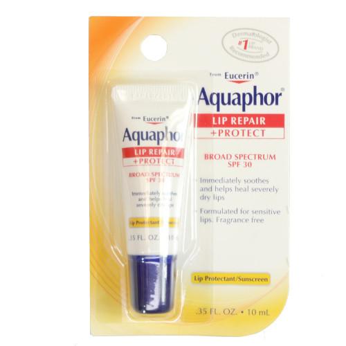 Aquaphor Lip Repair + Protect, Broad Spectrum SPF 30, .35 oz