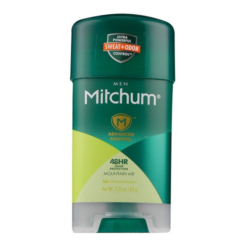 Mitchum Men Anti-Perspirant & Deodorant Gel Stick, Mountain Air, 2.25 oz