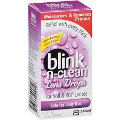 Blink-N-Clean Lens Drops, 15 ml