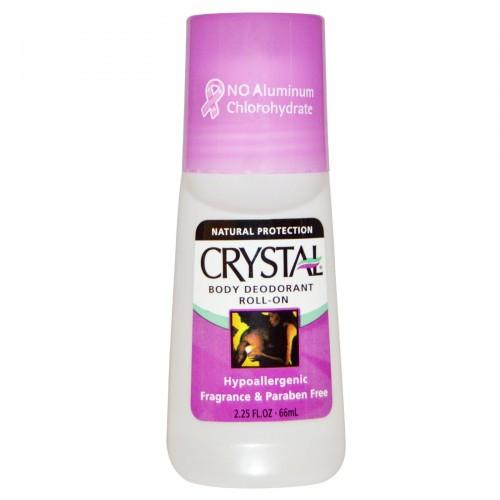 Crystal Body Deodorant Roll-On, Fragrance Free, 2.25 oz, 1 Ea