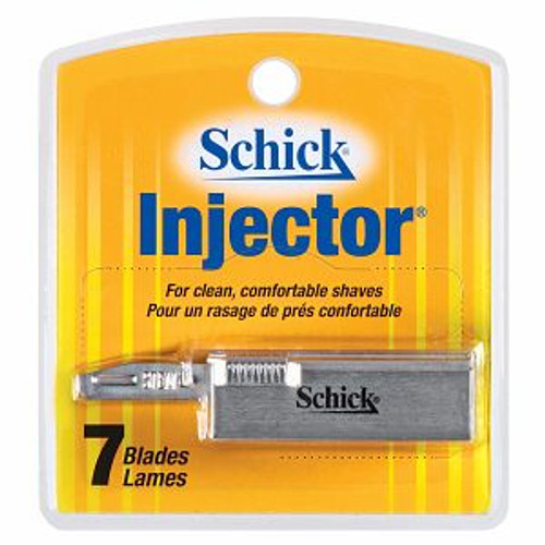 Schick Injector Single Edge Refill Cartridges, 7 Ct