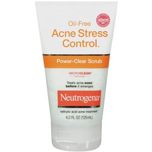 Neutrogena Oil-Free Acne Stress Control Power-Clear Scrub, 4.2 oz