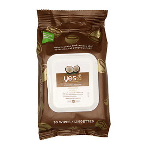Yes to Coconuts Cleansing Wipes, Hydrate & Restore, 30 ct, 1 Ea