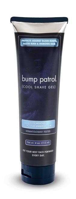 Bump Patrol Cool Shave Gel for Sensitive Skin, Menthol, 4 oz