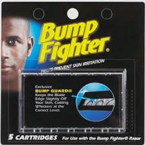 Bump Fighter Razor Refill Cartridges for Men, 5 ct