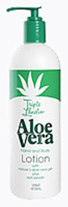 Triple Lanolin Hand & Body Lotion, Aloe Vera, 16 oz