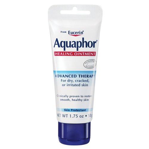 Aquaphor Advanced Therapy Healing Ointment Tube with Peg, 1.75 oz, 1 Ea