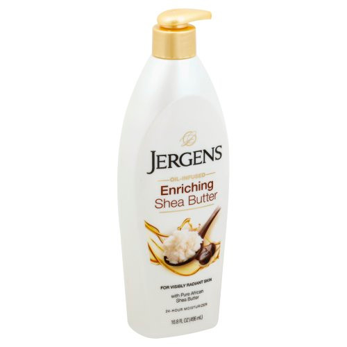 Jergens Shea Butter, Conditions & Enriches Deep Conditioning Moisturizer, 16.8 oz