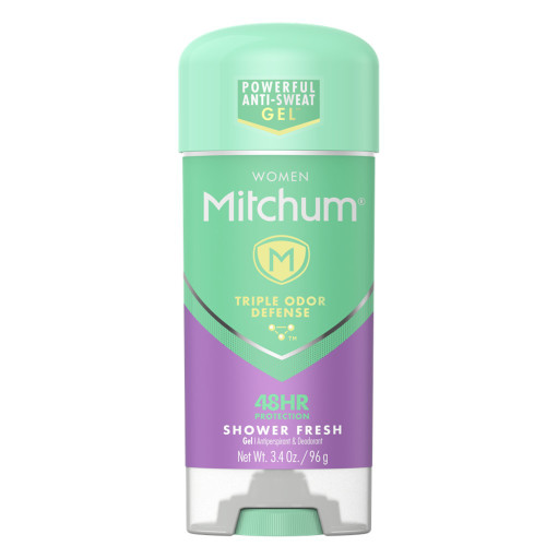 Mitchum Women Mithcum Anti-Perspirant & Deodorant Gel Stick, Shower Fresh, 3.4 oz