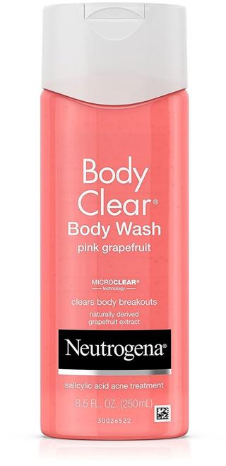 Neutrogena Body Clear Body Scrub With Salicylic Acid Acne