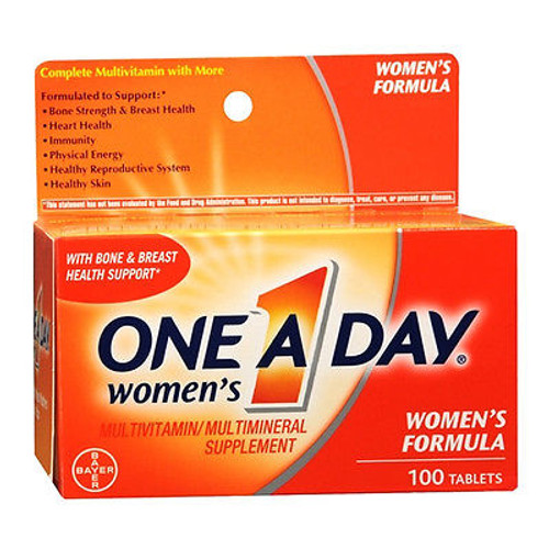 One A Day Women's Multivitamin & Mineral Supplement Tablets, 100 ct, 1 Ea