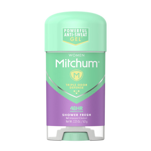 Mitchum Women Anti-Perspirant & Deodorant Gel Stick, Shower Fresh, 2.25 oz