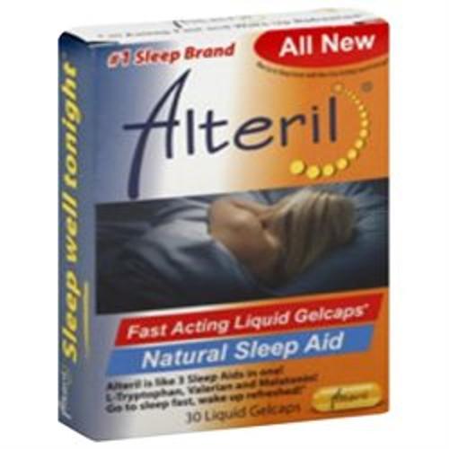 Alteril All Natural Sleep Aid Softgel, 30 ct
