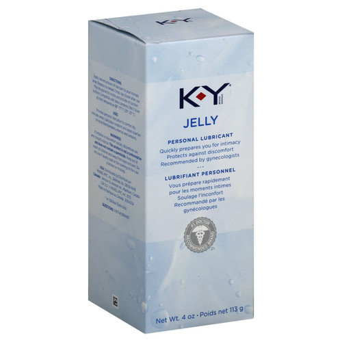 KY Jelly Personal Lubricant, 4 oz, 1 Ea