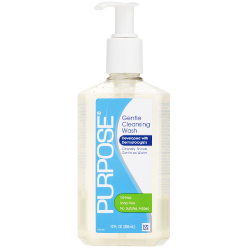 Purpose Soap-Free Gentle Cleansing Wash, 12 oz