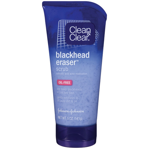 Clean & Clear Blackhead Eraser Scrub, 5 oz