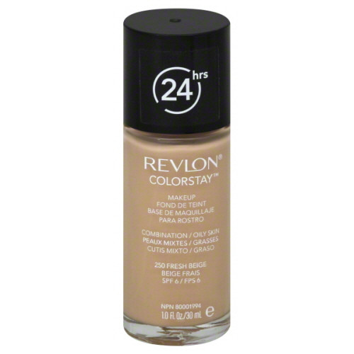 Revlon Colorstay 24HR Liquid Makeup Foundation, Combination-Oily, 1 oz