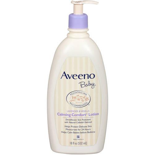 Aveeno Baby Calming Comfort Lotion, Lavender & Vanilla, 18 oz