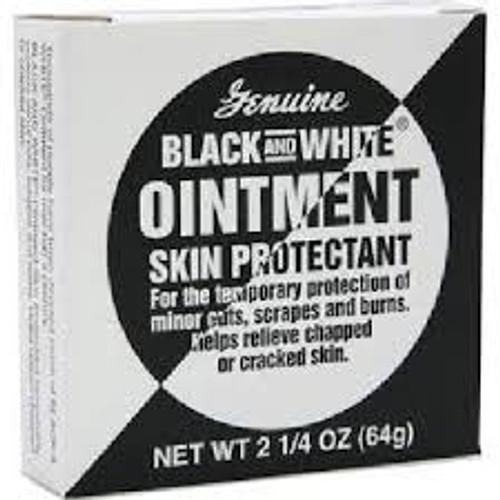 Black & White Skin Protectant Ointment, 2-1/4 oz, 1 Ea
