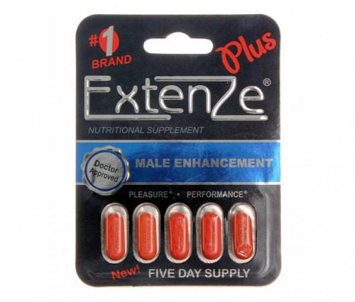 Extenze Plus Male Enhancement Tablets, 5 ct
