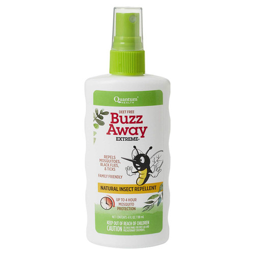 Buzz Away Extreme Natural Insect Repellent Spray, 4 oz