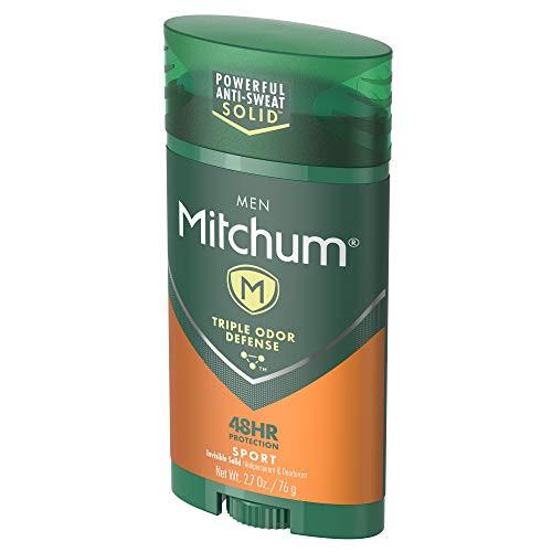 Mitchum Men Invisible Solid Anti-Perspirant & Deodorant Stick, Sport, 2.7 oz