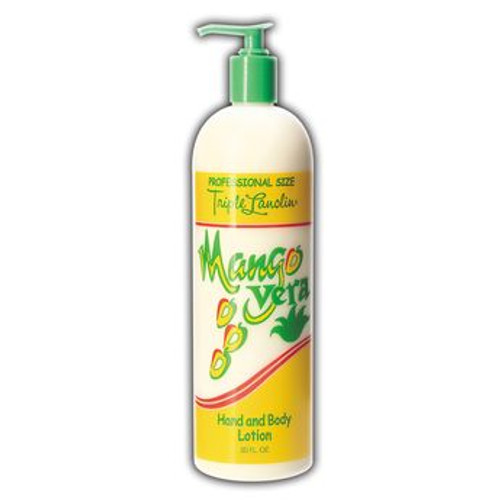 Triple Lanolin Mango Vera Body Lotion, 16 oz, 1 Ea