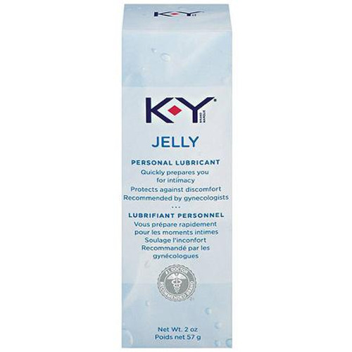 KY Jelly Personal Lubricant, 2 oz, 1 Ea