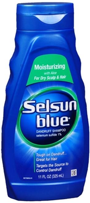 selsun blue moisturizing dandruff shampoo 11 oz 1 ea nationwide