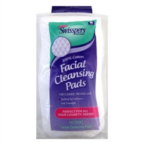 Swisspers Multicare Facial Cleansing Pads, 50 ct