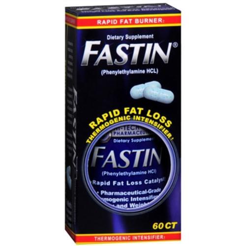 Fastin Rapid Weightloss Thermogenic Rapid Fat Burners, 60 ct