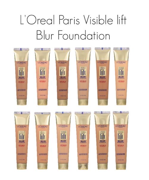 L'Oreal Paris Visible Lift Blur Foundation, 1.3 oz
