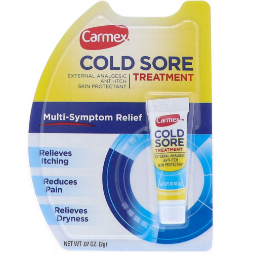 Carmex Cold Sore Treatment External Analgesic, 0.07 oz