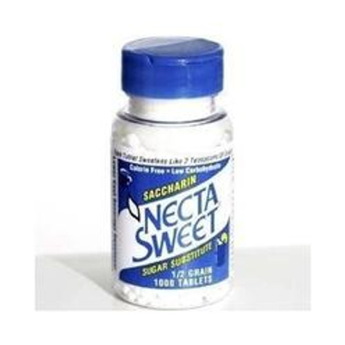 Necta Sweet Sugar Substitute, .50 Grain, 1000 ct, 1 Ea
