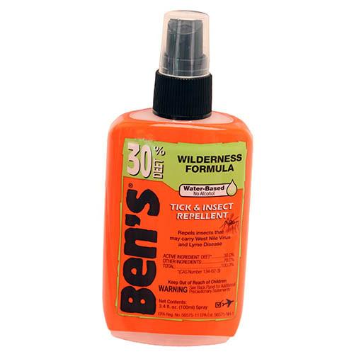 Bens Tick & Insect Repellent Non-Aerosol Spray, 3.4 oz
