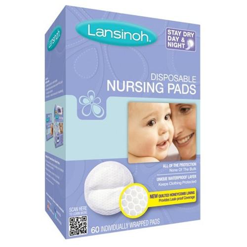 Lansinoh Disposable Nursing Pads, 60 ct, 1 Ea