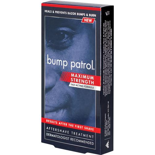 Bump Patrol Maximum Strength Aftershave Treatment for Razor Bumps & Burns, 2 oz