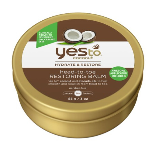Yes To Coconut Hydrate & Restore Head-To-Toe Restoring Balm, 3 Oz, 1 Ea