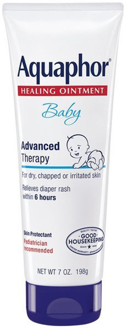 Aquaphor Baby Advanced Therapy Healing Ointment, 7 oz